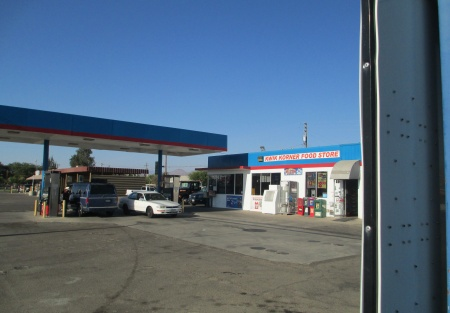 Low Rent Gas Station Business for Sale in Tulare County CA