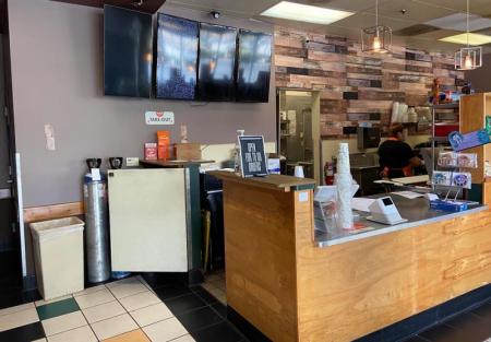 High Volume Sandwich shop near Santa Clara University