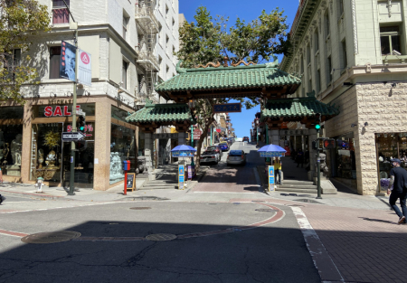 Asian Gift and Souvenirs shop for sale near Dragon Gate SF Chinatown